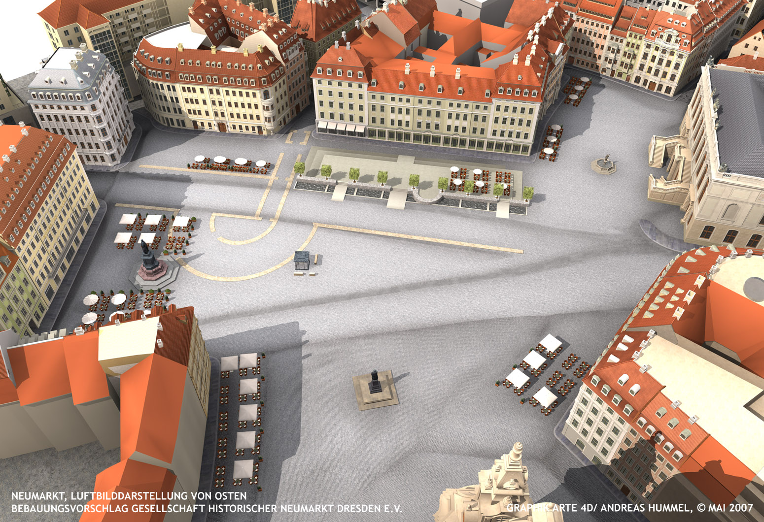 Reconstruction Of Dresden S Neumarkt New Market Page 322