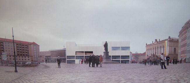 Gewandhauswettbewerb neumarkt dresden quartier vi 2007 prof andreas meck meck architekten - Meck architekten ...