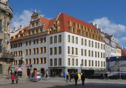 Aufbau Altsttadt Dresden Quartier Viii